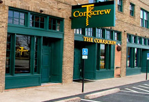 The Corkscrew Wine Bar on Wasington Ave, Houston, Texas